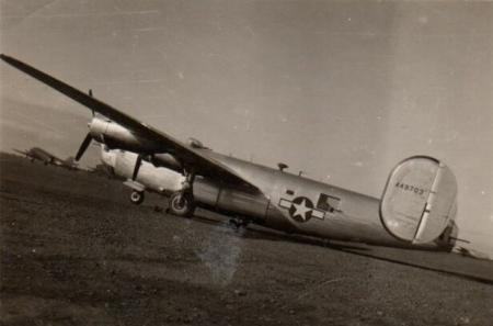 B-24 delivered to Italy for another Bomb Group