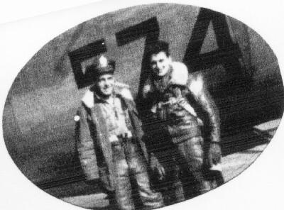 Pilot Ted Ringwald and Engineer Jerry Tavolott