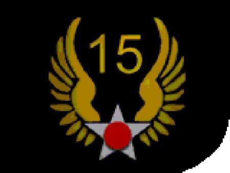 15th AF Patch