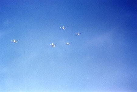 459 BG  759 BS 6 plane Formation on route to target1944