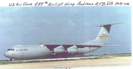 US Airforce 459th Airlift
