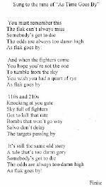 Flak Poem by Ed Denari-757th BS