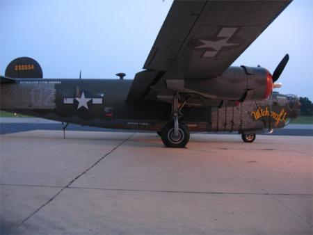 Collings Foundation B-24 Side view 2007