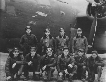 2nd Lt Donald Stevenson Crew