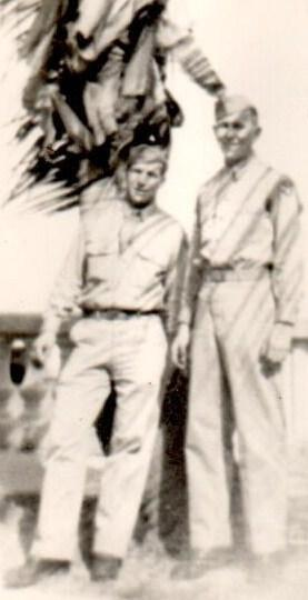 Dad and friend  - Buckingham Field - Ft Meyers Florida