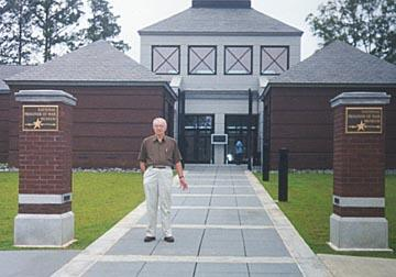 Gordon at P.O.W. Museum in Andersonville, GA June 17, 1999