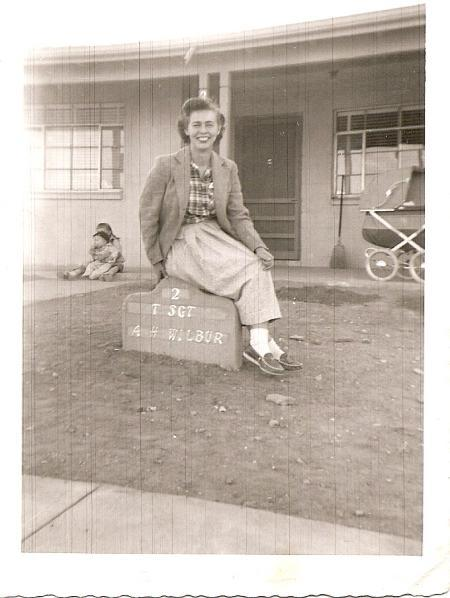 Lucy Wilbur WAF, Roswell, NM 1952