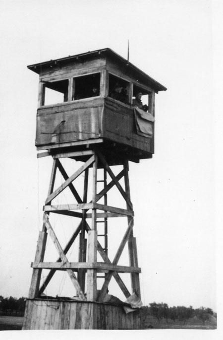 459th BG`s Control Tower named