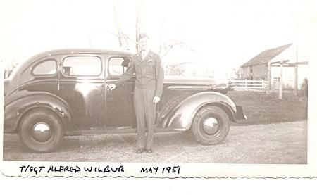 Alfred recalled to active duty 1951