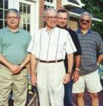Son Johnny, Gordon, Son Keith, Son Chip July 4th, 1999