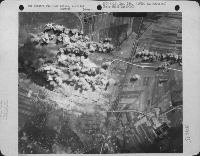 459th Bombardment Group Mission to Bad Voslau,Austria  - A/C Factory on 04/23/1944
