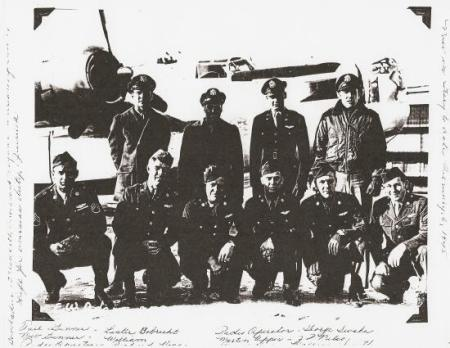 Earl W. Adams crew (758th Sqn)