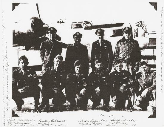 Earl W. Adams crew  (758th Sqn) - 459th BG, Army Air Corps Library and Museum