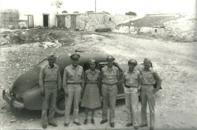 Lt. Cole far left - 459th BG, Army Air Corps Library and Museum