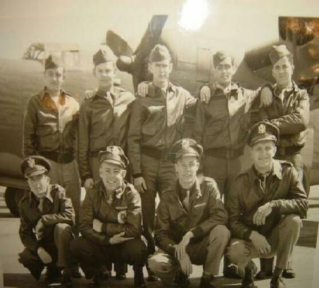 Lt. George Ostroot Crew 759th SQ