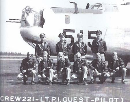 Lt. Paul Guest Crew  758th SQ