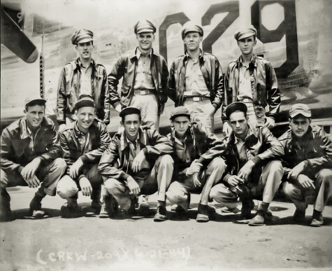 Lt. Garrett Crew. Individual positions unknown. - 459th BG, Army Air Corps Library and Museum