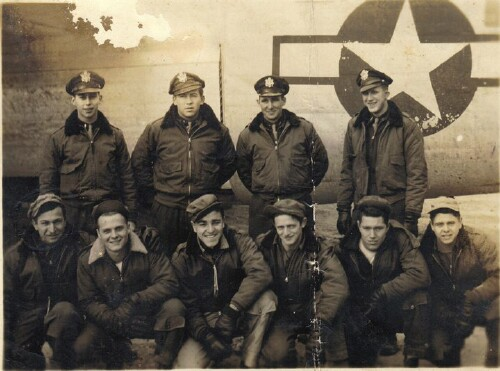 Lt. M. Sparks' crew - 459th BG, Army Air Corps Library and Museum