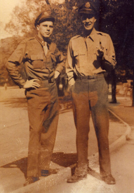 Lt Ogle and Lt George - 459th BG, Army Air Corps Library and Museum