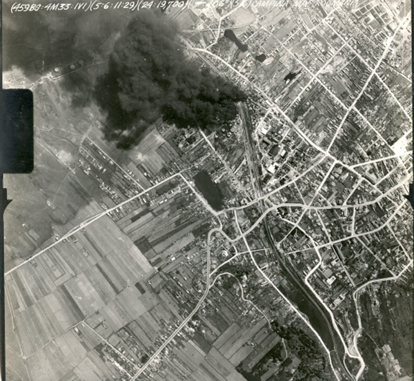 <p> Mission No. 33 was one of the first 459 Bomb Group high level bomber formation raids on the Ploesti Oil Fields campaign in 1944 after the first raid in 1943 from North Africa as a low level daylight raid resulted in heavy losses in U S aircraft due to large concentrations of enemy fighters and German flak including flak guns on railroad cars. </p>