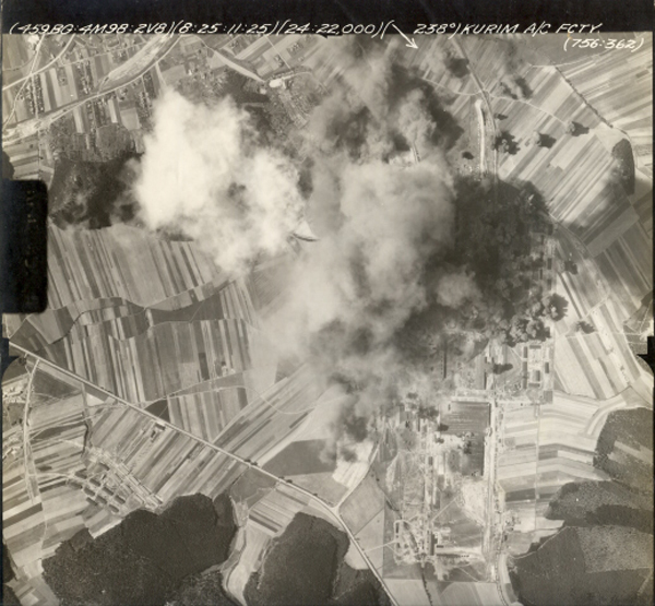 <p>Mission # 98 on 8-25-44 was  another long mission to destroy German aircraft factories to prevent interception of U. S. Bomber Formations on the way to bomb key targets throughout Germany and German occupied countries.</p>