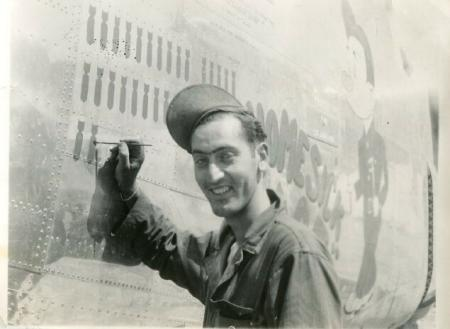 <b>Pictured above is Sam Shanblott of the 758th Bomb Squadron.</b> 459th BG Home