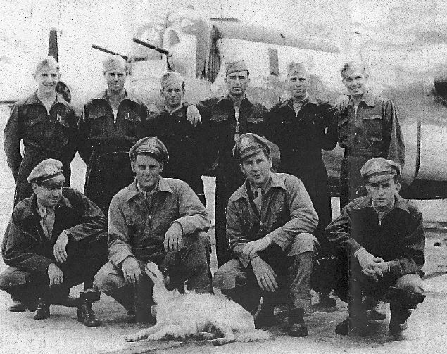 Front Row L to R - 459th BG, Army Air Corps Library and Museum