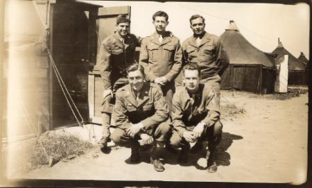 Tent Mates - 459th BG, Army Air Corps Library and Museum