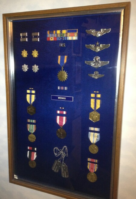 Wally's Medals - 459th BG, Army Air Corps Library and Museum