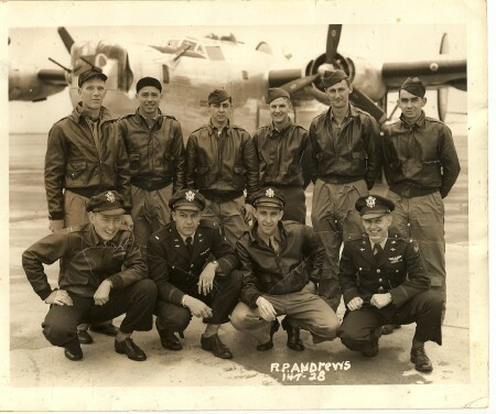 S/Sgt. John Glidewell - back row second from left - 459th BG, Army Air Corps Library and Museum