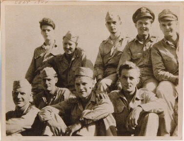 Pilot - Thomas K. Oliver (middle of top row) - 459th BG, Army Air Corps Library and Museum